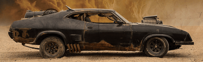 Mad Max Inteceptor On Set Image (Source: Imgur)