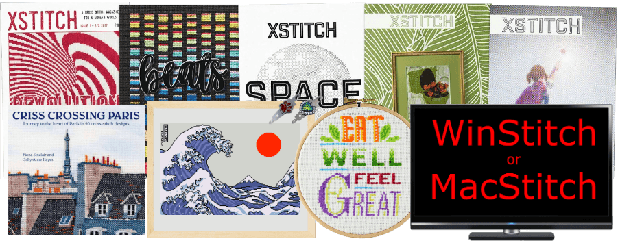 Cross Stitch Giveaway Items