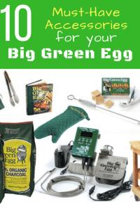 Big Green Egg Best Accessories