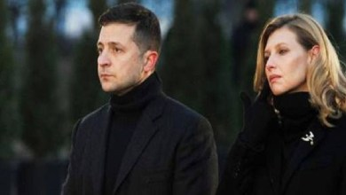 Photo of Ukraine President's Wife Hospitalized