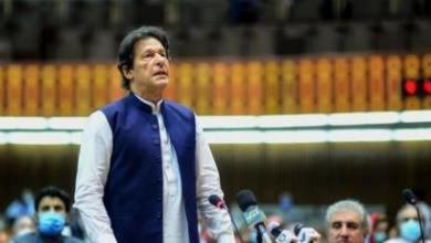 Photo of PAKISTAN'S PM IMRAN KHAN says 'no doubt' that India was behind stock exchange attack.