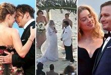 Photo of Johnny Depp & Amber Heard's UNSEEN Romantic & Wedding Footage