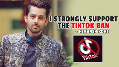 Photo of Himansh Kohli on banning TikTok: I strongly support the decision