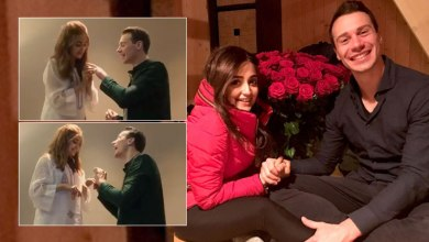 Photo of Monali Thakur shares romantic throwback video of exchanging rings with Maik Richter