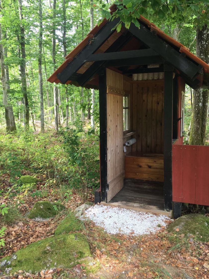 WC-huisje Zweden