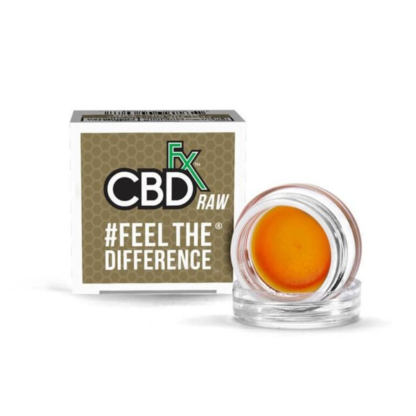 CBDfx Wax Raw Dabs 300mg Full Spectrum CBD