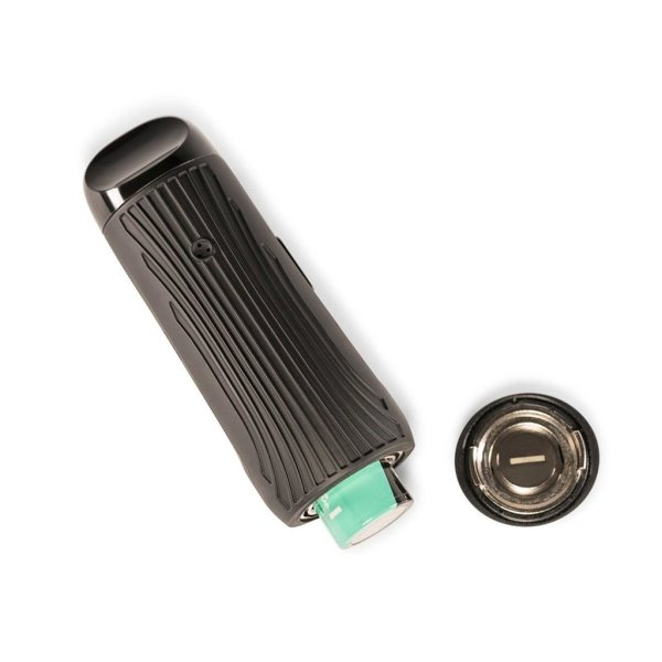 Boundless CFC Lite dry herb vaporizer in black with replaceable battery