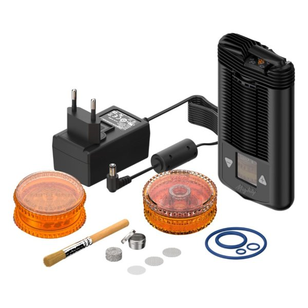 Storz & Bickel The MIGHTY vaporizer is the best quality dry herb vaporizer - package contents