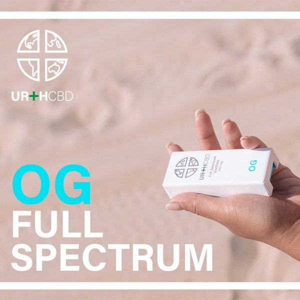 UrthCBD Distillate Vape Cartridge - OG - 300mg