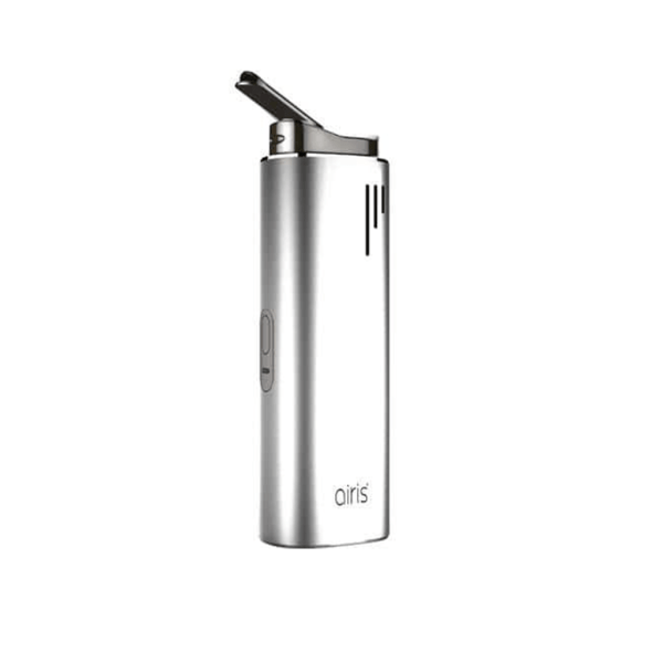 Airistech Switch 3-in-1 dry herb vaporizer in silver