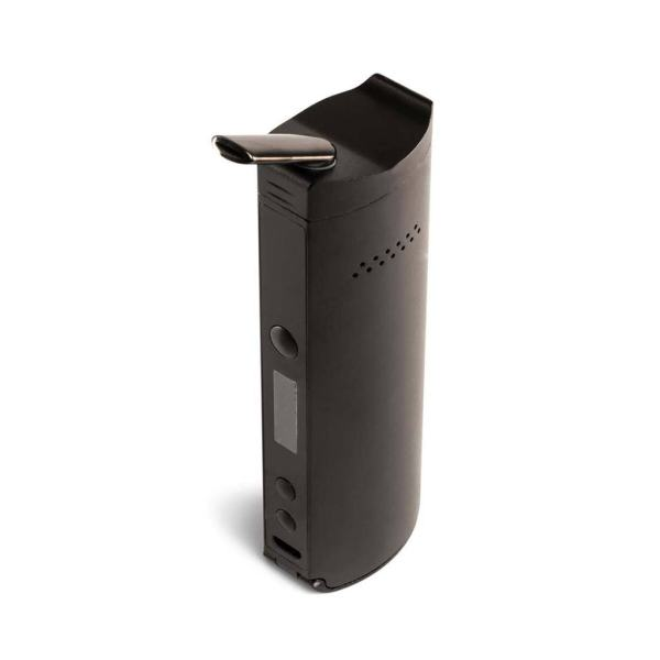 XMAX XVAPE Starry V3 dry herb vaporizer showing backside