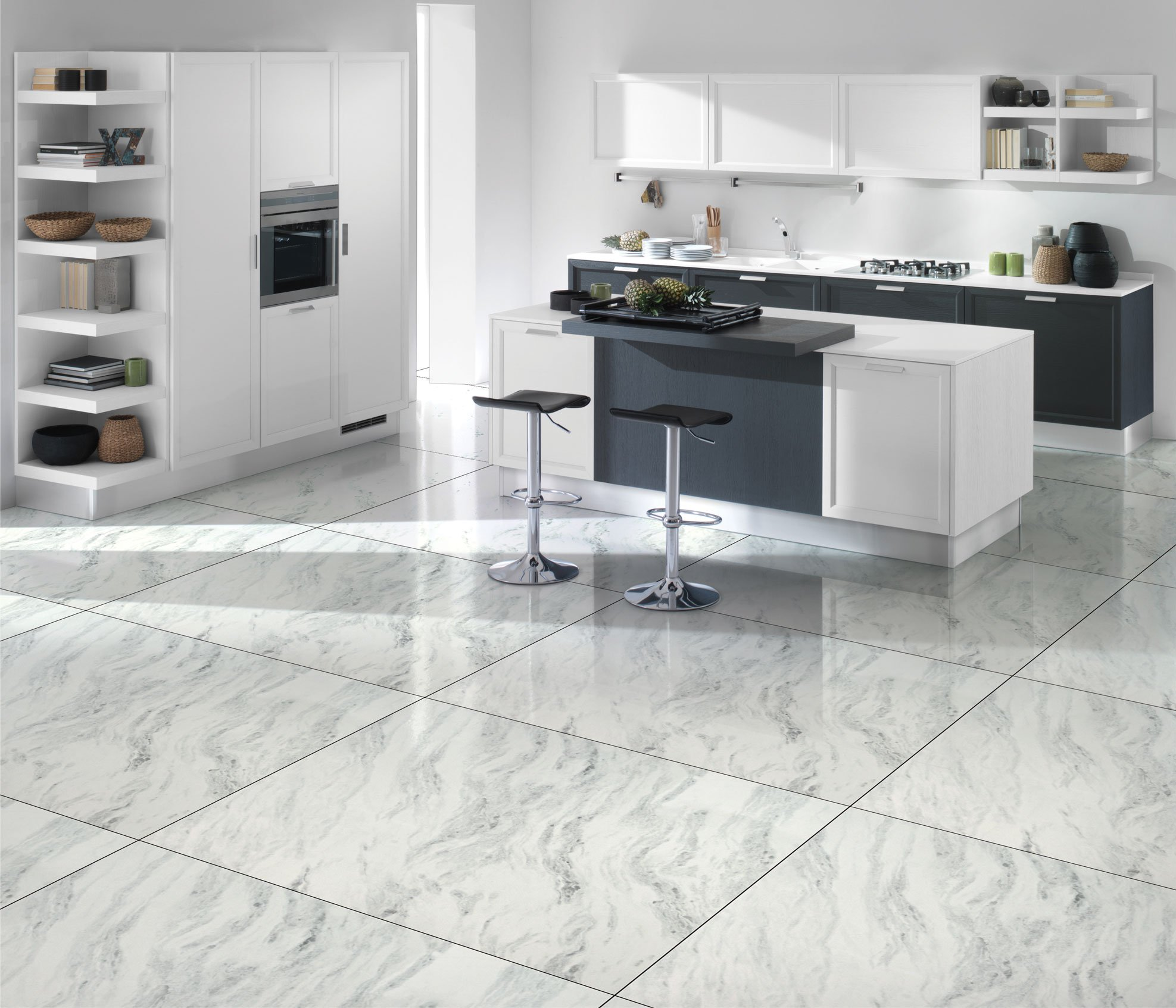 best type of tile for kitchen floor
