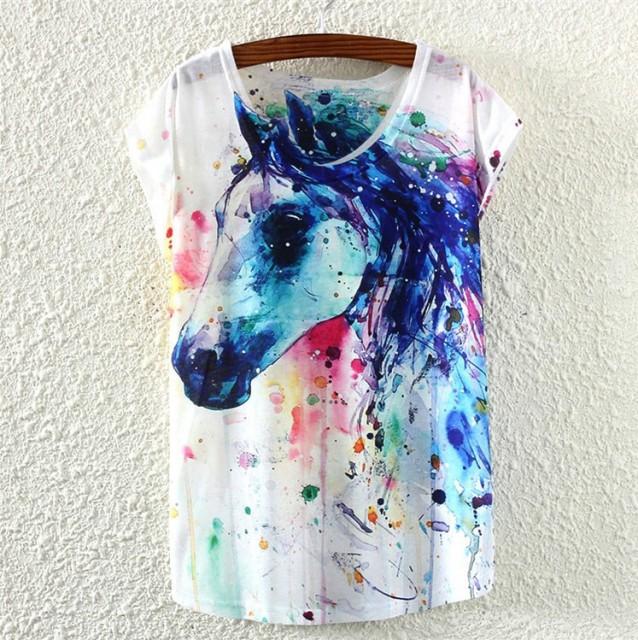 kalimermark tricou-de-dama-cu-imprimeu-culori