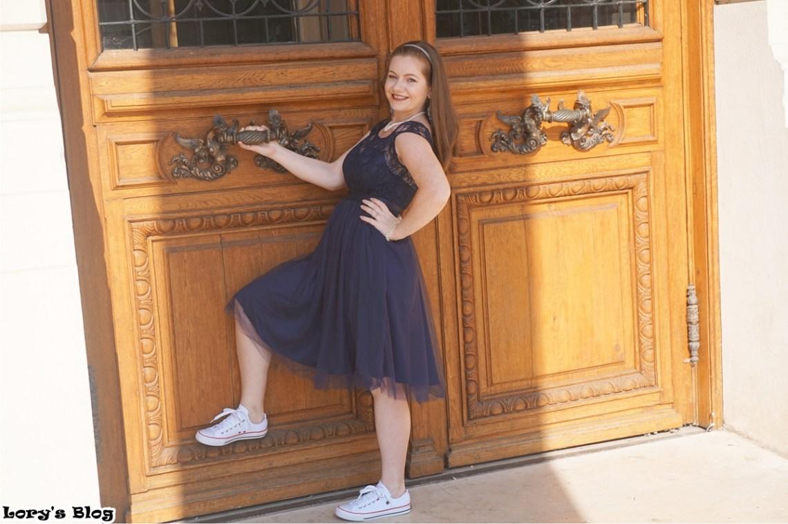 rochie-albastra-zaful-cu-tenisi-albi-lorys-blog
