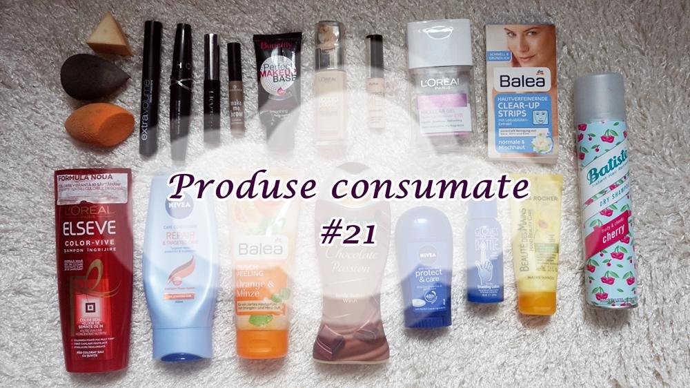 Produse consumate #21