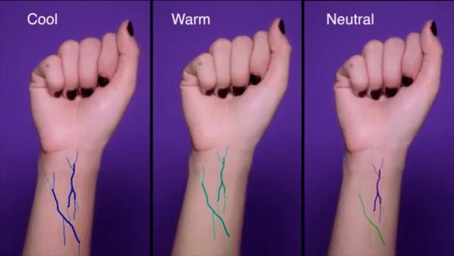 Aflarea subtonului pielii