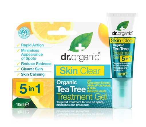 Gel tratament Organic Tea Tree