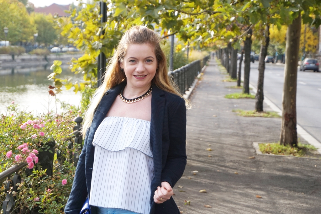 Outfit for a nice autumn with blazer
