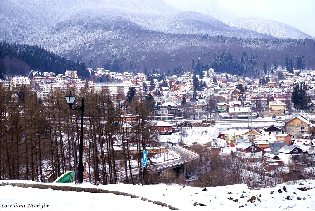 Orasul Busteni din Castelul Cantacuzino