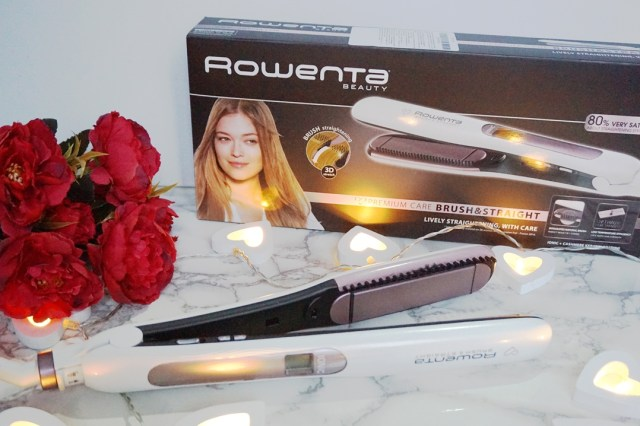 Rowenta Premium Care Brush & Straight - lorys blog