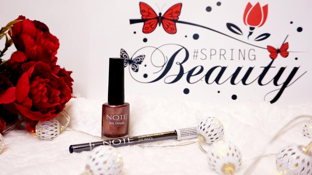 #springbeautyevent - Note Cosmetics