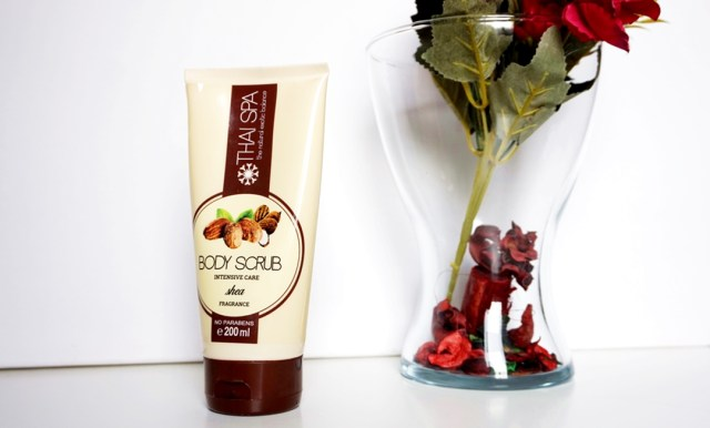 Body Scrub Thai Spa cu Shea