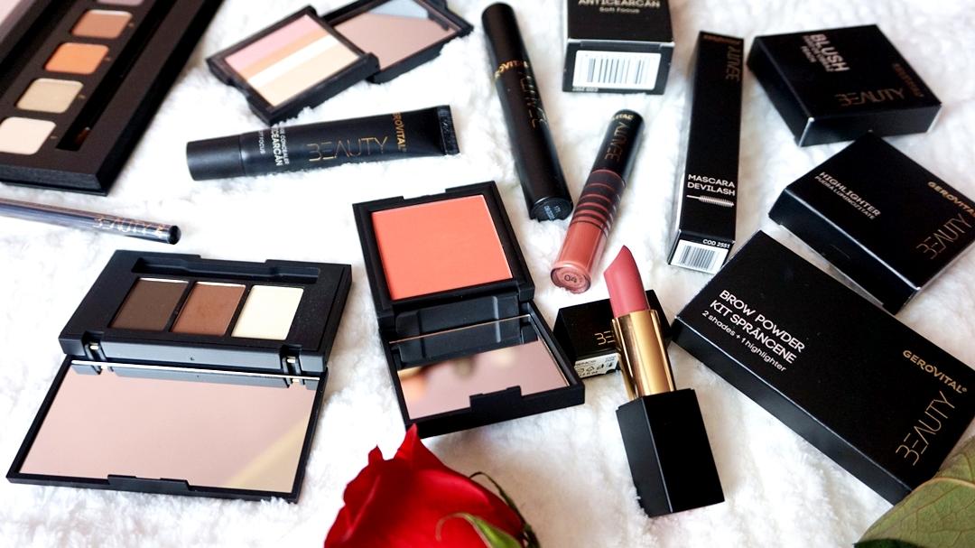 Makeup products Gerovital Beauty line