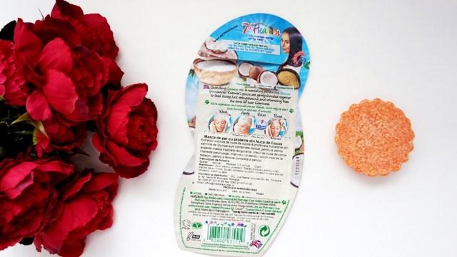 masca de par cu proteine din nuca de cocos 7th Heaven