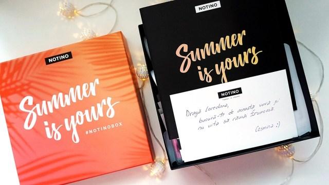 summer is yours - #notinobox