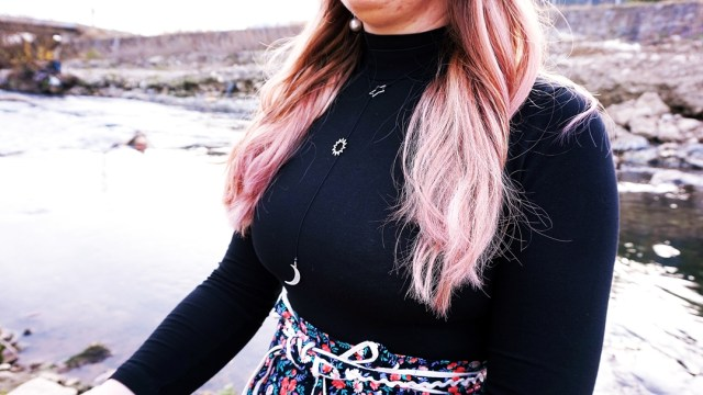 purple hair - stare de ostara - lorys blog