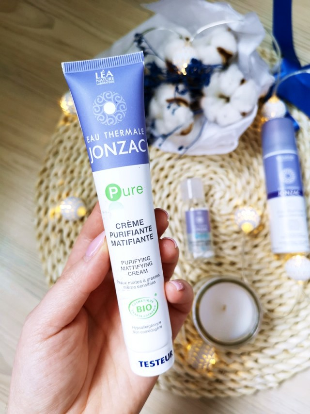 Crema de fata purifianta matifianta Jonzac Pure - review