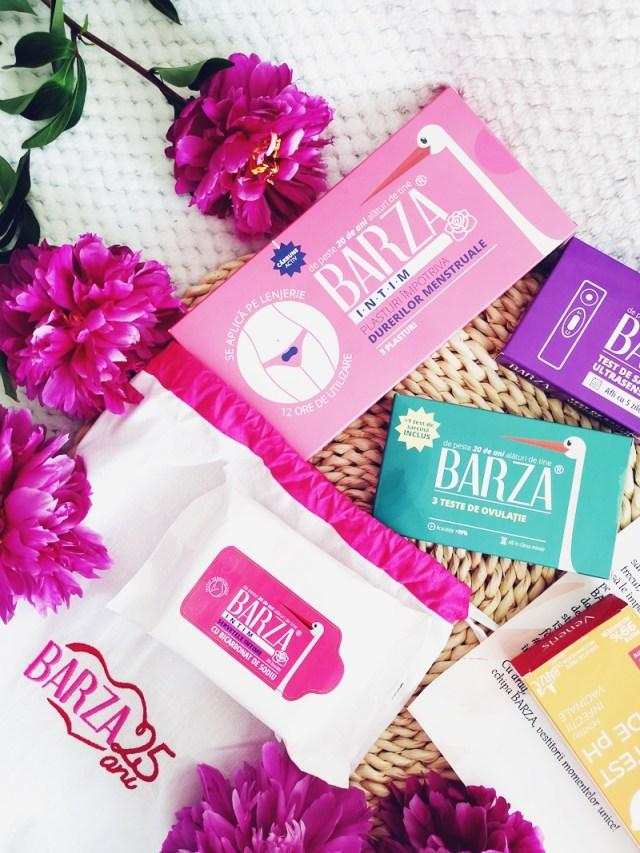 plasturi pentru dureri menstruale si servetele intime Barza