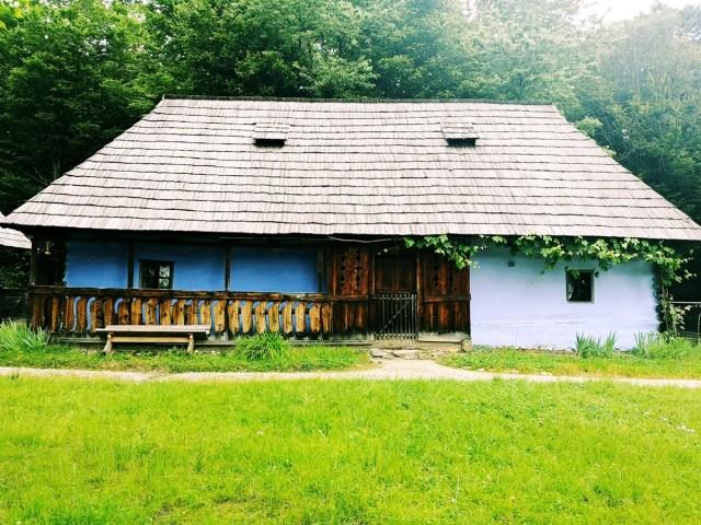 gospodarie la Muzeul Civilizatiei Populare Traditionale Astra din Sibiu