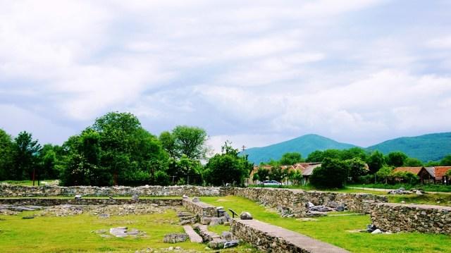 ruine de la Sarmizegetusa Ulpia Traiana