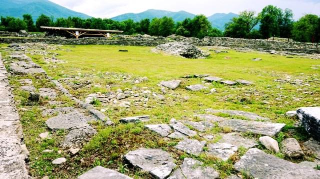 ruinele de la Sarmizegetusa Ulpia Traiana