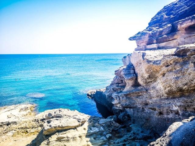 Kallithea Bay in Rodos, Greece