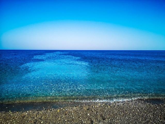 amazing Aegean Sea At Afantou Beach, Rodos