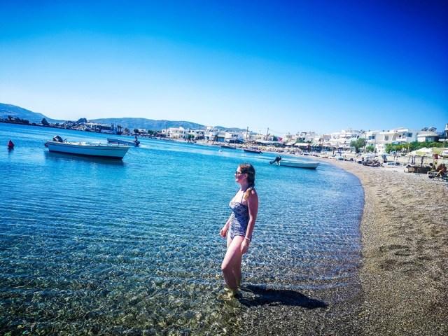 lorys blog at Charaki Beach in Rodos