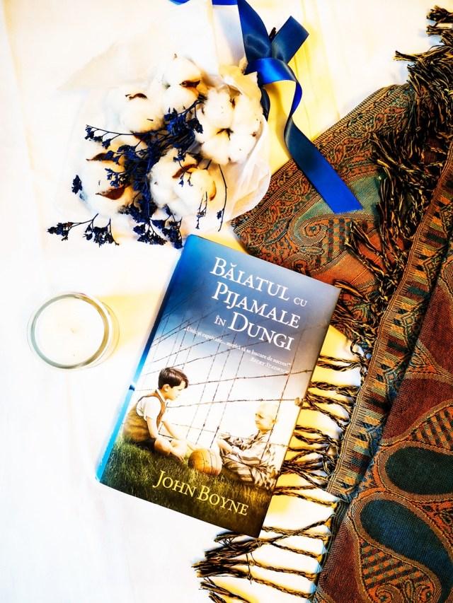 Baiatul cu pijamale in dungi de John Boyne