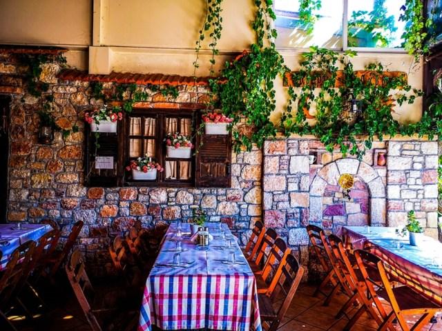 taverna Savvas in Embona, Rodos