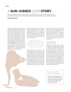 Sunblock, Sun protection: Skin Care for Men and Women by Lorelei Shellist