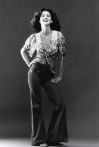 Lorelei Shellist modeling at 16