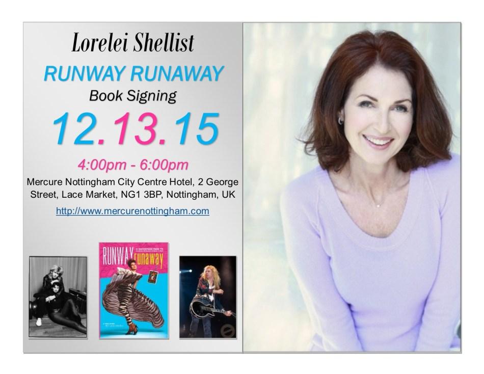 Runway Runaway Book Signing