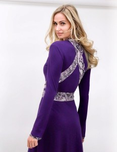 The Dream Dress int the color purple