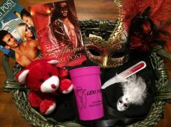 Lexi Post Masque Themed Basket