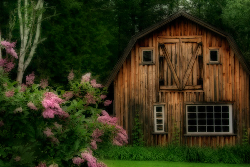 Freeman Patterson's Barn - Orton Effect