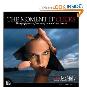 The Moment It Clicks by Joe McNally - Book Cover
