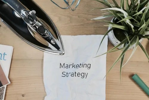 Ironing out your strategy photo by Campaign Creators