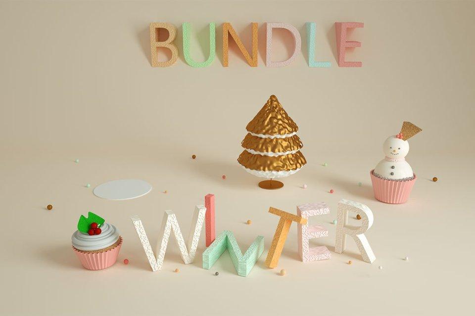 winter xmas bundle