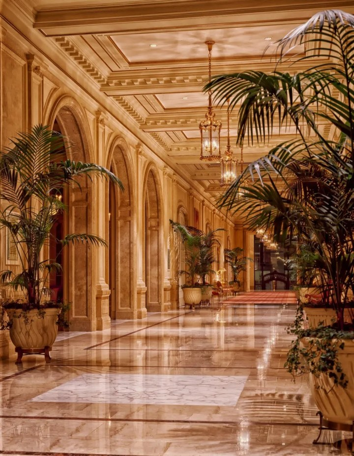 architecture hall hallway interior design